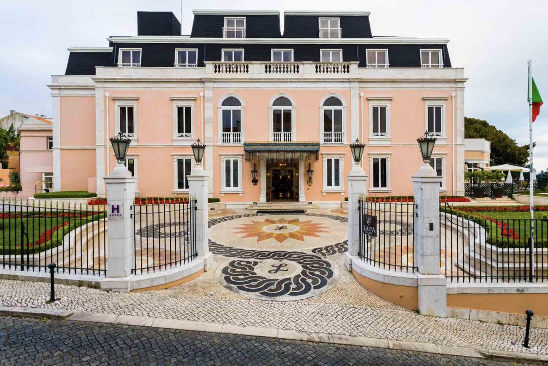 Olissippo Lapa Palace unique Lisbon Hotels palatial exterior