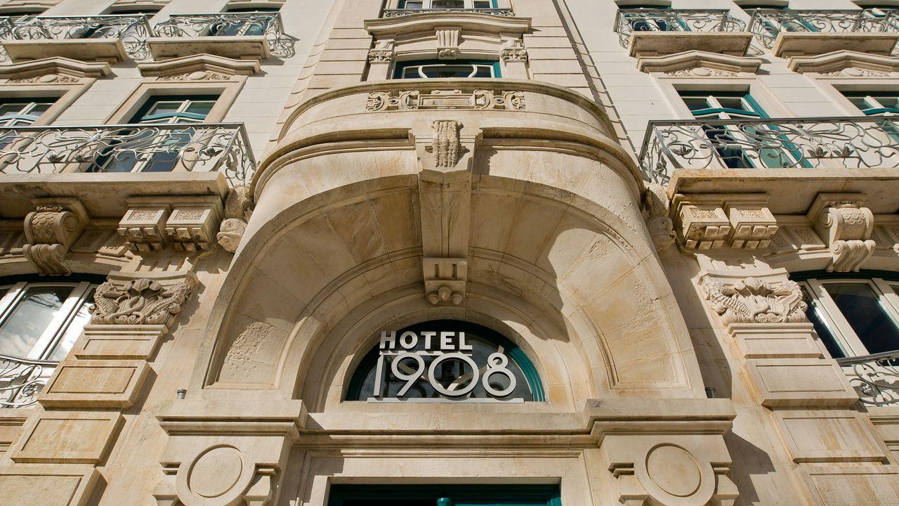 Hotel 1908's palatial exterior