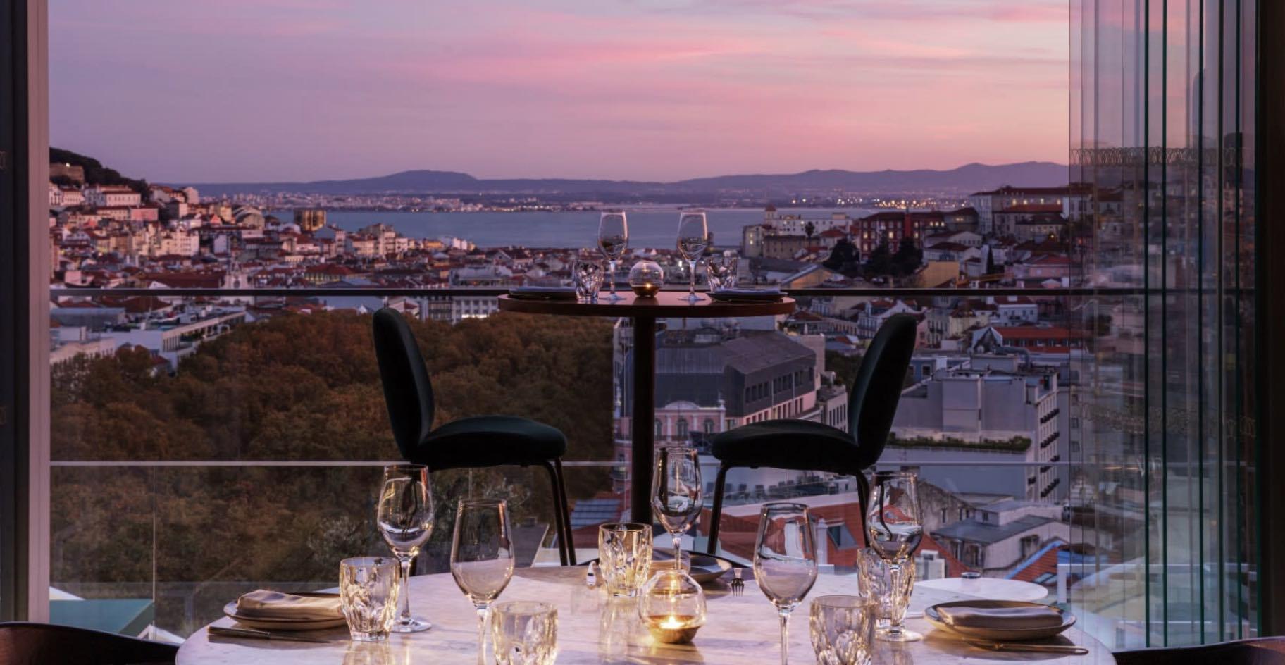Tivoli Avenida Liberdade Lisboa view of private dining