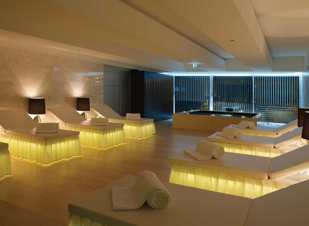 VIP Grand Lisboa Hotel & Spa - spa area of luxury spa hotels in Lisbon